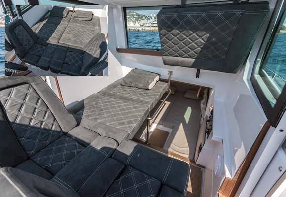 Спальные места в модели Cabin